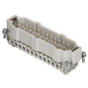 INSERT MALE VIS 16A 500V 24P+T SANS PLAQUETTE GAB104.27