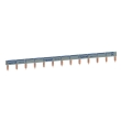Peigne d'alimentation HX³ - 1P - universel Ph + N - Long. 13 modules