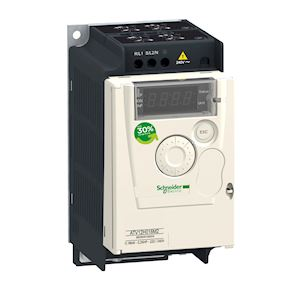Altivar ATV12 - variateur de vit. - 0,18kW 0,25CV - 200..240V - 1ph - radiateur