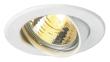 SP ROUND GU10 encastré, rond, blanc, max. 50W