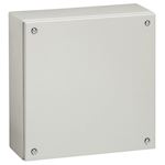 Boîtier industriel Atlantic métal carré IP66 IK10 - 200x200x120mm - RAL7035