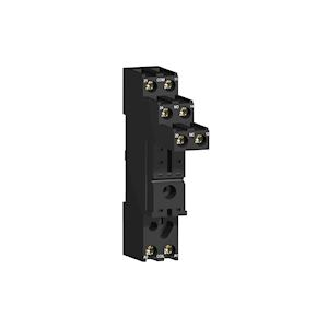 Zelio Relay RSB - embase - contacts séparés - 10A - racc connecteur à vis