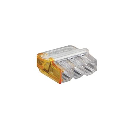 200pcs 4,8 mm Connecteurs de fil Bornes /à sertir Sertissage Bornes /à cosse femelle avec /étuis de manchons isolants transparents Argent et transparent
