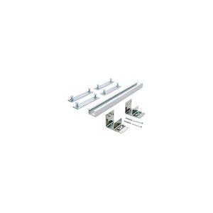Profilé supérieur fixation pour vantaux avec bâti