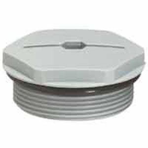 BOUCHON PLAST.ISO25 RAL 7001