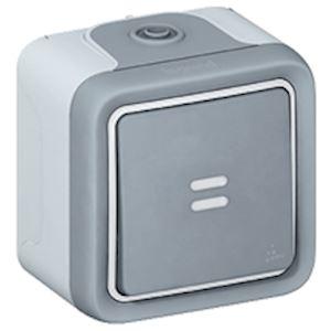 Keenso 12V /à bouton-poussoir avec 4fils conducteurs pour moto//voiture automatique 5 interrupteurs /à bouton-poussoir imperm/éable /à leau