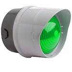 Maxi feu trafic LED 230Vca Vert 177xø140mm IP65