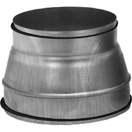 R/éducteur de gaine alu 160-125 mm gaine de ventilation