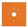 Coque orange à clipser compatible avec la gamme de détecteurs INSAFE