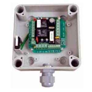 Contrôleur de porte pr1lect.Wiegand/ClockData,1X BP,1xDO,2rel.paramet. s/bus ELA