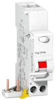ProDis Vigi DT40 - bloc différentiel 1P+N 40A 30mA instantané type AC 230Vca