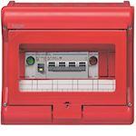 Coffret sécurité vector IP55 IK07 cl.II équipé p chaufferie 8+2 mod h210xl237mm