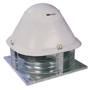Tourelle centrifuge horizontale, 20000 m3/h, 6 poles, D 630 mm, triphasée 400V
