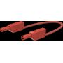 Cordon de mesure de sécurité 4 mm 200 cm rouge