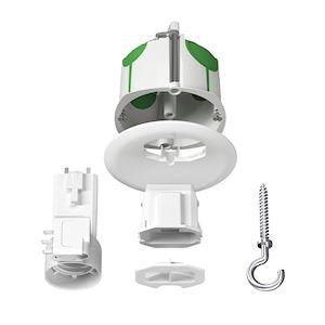 Multifix Air DCL, boîte de centre avec couv non affleur connect douille piton