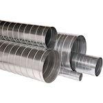 Barre standard galva de 3 mètres et de diamètre 160 mm