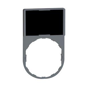 Harmony porte étiquette 30 x 50 mm standard - D=22 - avec étiquette vierge
