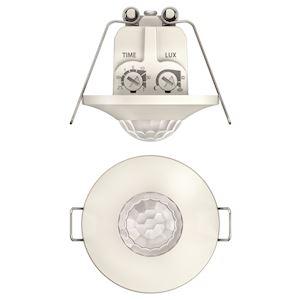 Détecteur mouvements mini  encastré plafond 360DEG blanc 1c IP 21