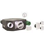 Kit VMC extra-plat, équipé de sondes de Qualité d'Air Intérieur et thermo-hygro