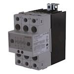 Contacteur statique 2ph 600V cmd cc zero de tension 3x25A