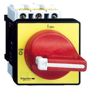 TeSys VCF - inter.-sectionneur - 3P - 690V 12A - poignée rouge cadenassable