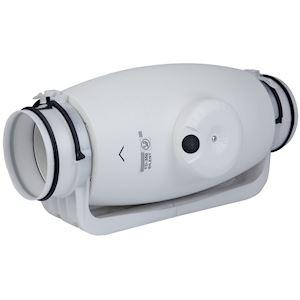 s p france unelvent td350 125silent ventilateur de conduit ultra silencieux 260 330 m3 h. Black Bedroom Furniture Sets. Home Design Ideas