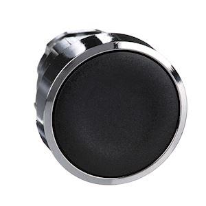 Harmony XB4 - tête bouton poussoir - affleurant - D=22 - noir