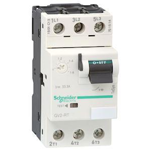 TeSys GV2RT - disj. moteur - 1..1,6A - 3P 3d - déclencheur magnéto-thermique