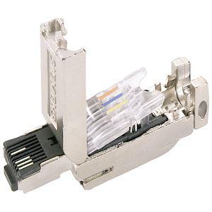 Connecteur RJ45 industriel droit, FastConnect, 1 pièce