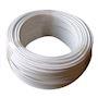 CABLE BLANC ANTI-COUPURE SPECIAL VERANDA SOUPLE 1.5² COURONNE 60M
