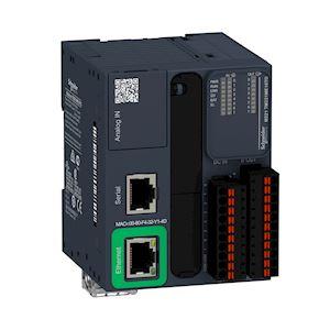 Modicon M221 Book, contrôleur 16E/S PNP, port Ethernet+série, 24VCC, ressort
