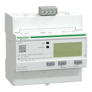 Acti9 iEM - compteur tri TI souples U018 - multitarif - alarme kW - Modbus