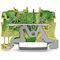 TOPJOB'S Borne de protection 2C / 1,0 (1,5) mm² / Vert-Jaune