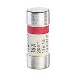 Cartouche cylindrique domestique 10,3x25,8mm sans voyant - 16A