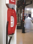 Poste mural HD 2000 Urgence 3 Rouge