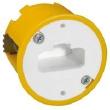 Boîte luminaire Batibox - cloison sèche - pr applique à bornes auto - prof 40 mm