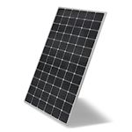 Module LG 410Wc 72c Mono Bifacial Cadre argenté Gar. 25ans, BiFi100 95,4% à 25an
