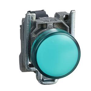 Harmony XB4 - voyant lumineux DEL - D=22 - vert - 24V - vis étrier