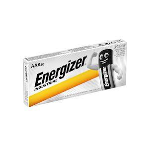 ENERGIZER PILE ALCALINE INDUSTRIAL AAAx10. La performance Energizer pour les pro