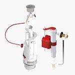 Soupape dual 6 + robinet sx boite 3/6L