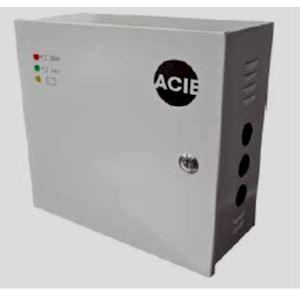 Coffret alimentation régulé 220V 27V 3A sous boîtier métallique, 2 batteries 7Ah