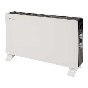 Panneau mobile, puissance de chauffe 1000/2000 W, thermostat auto, classe II