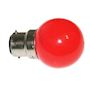 Lampe B22 LED SMD Rouge ø 45-47mm 230V