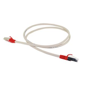 CORD CAT5E FTP CROISE ROUGE 1M