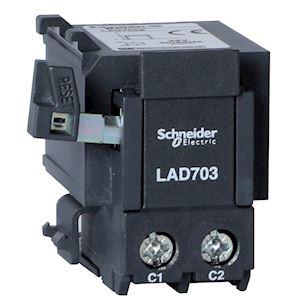 TeSys LA7D - arrêt ou réarmement électrique à distance - 220..230Vcc/ca
