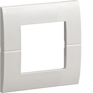 Systo plaque 2 modules Blanc