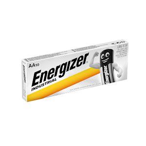 ENERGIZER PILE ALCALINE INDUSTRIAL AAx10 . La performance Energizer pour les pro