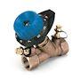 751R Vanne taraudée bronze 2 Prises pression à Kv réduit 1'