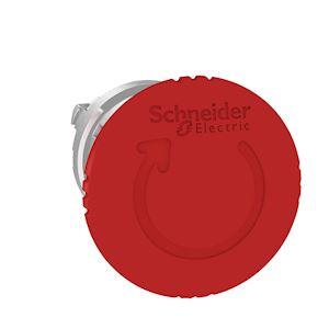 Harmony XB4 - tête arrêt urgence - pousser tourner - D=40 - rouge