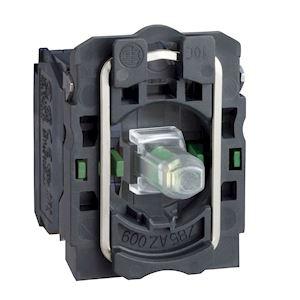 Harmony corps de bouton lumineux - D=22 - vert LED intégrée 2F